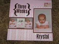 Krystal 3 Weeks *