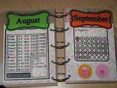 August/September Birthday/Anniversary Reminder *