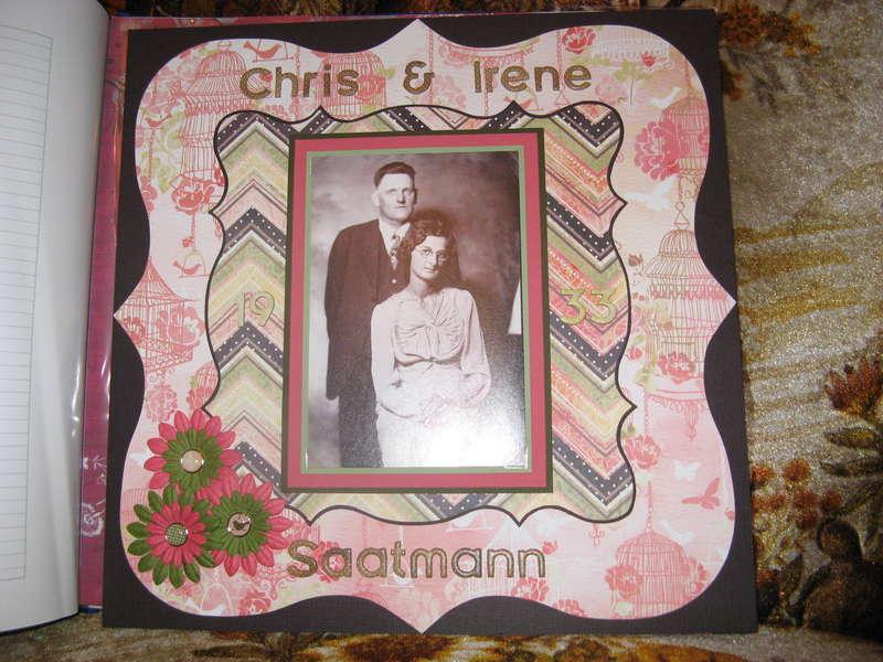 Grandparents Wedding Pic *
