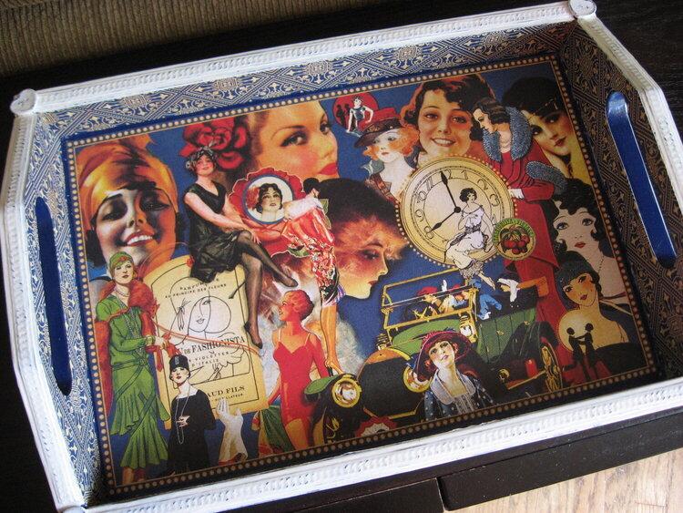 Altered Tray - Graphic 45 Fashionista