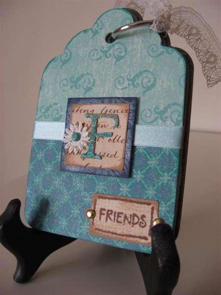 Friends Chipboard Tag album