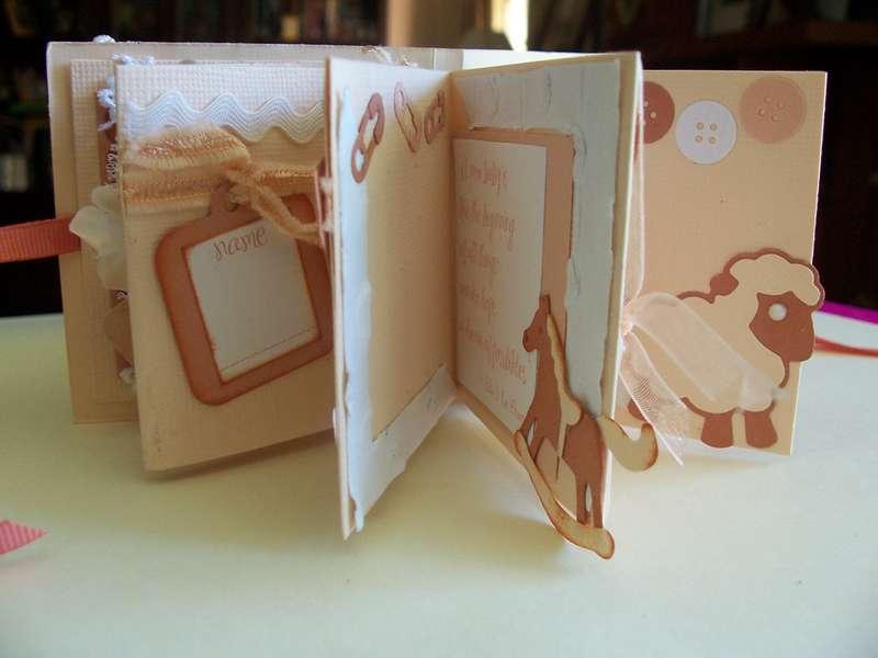 We R Memory Keepers baby micro album