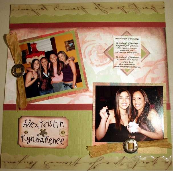 The Tender Gift of Friendships