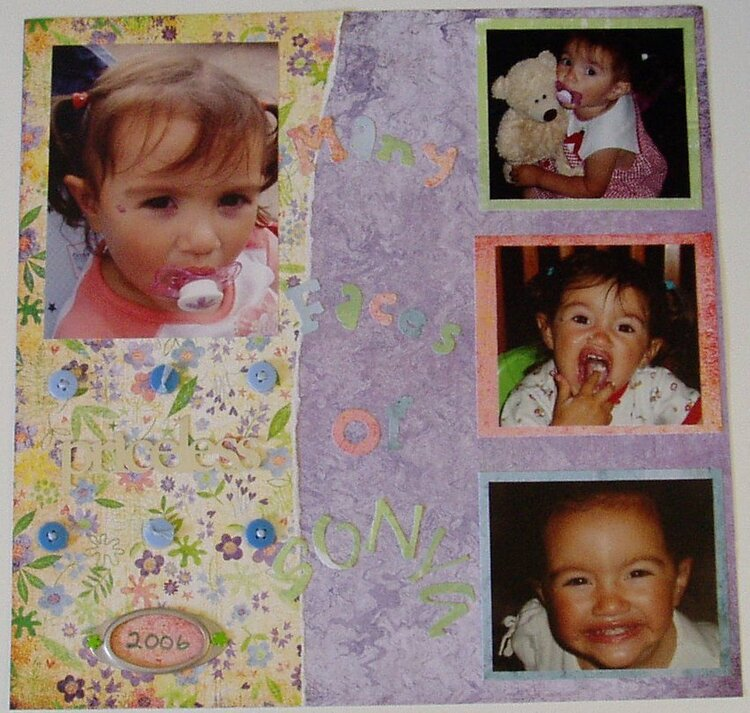 Many Faces of Sonya