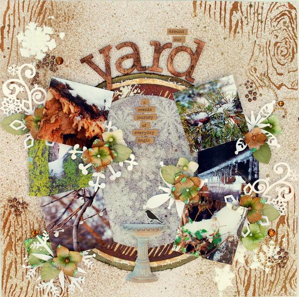 Around Our Yard ~UDC Week 6~
