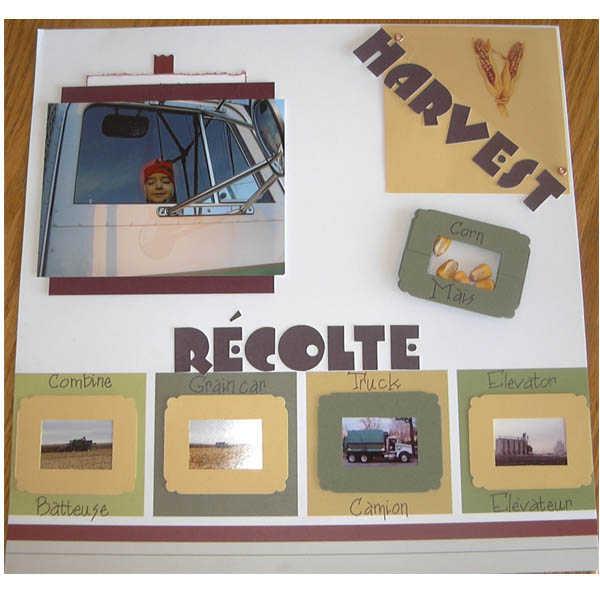 Harvest / Recolte