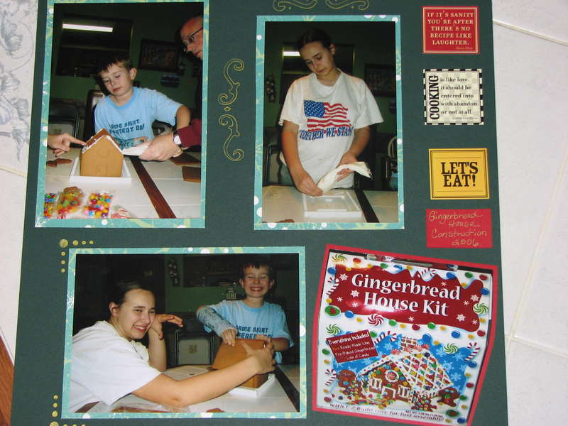 Gingerbread house 2006 page 2