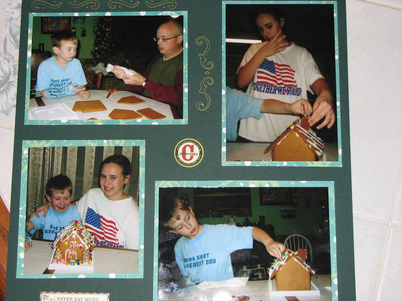 Gingerbread house 2006 page 1