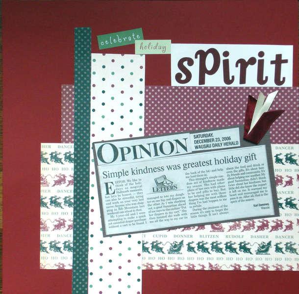 Celebrate Holiday Spirit