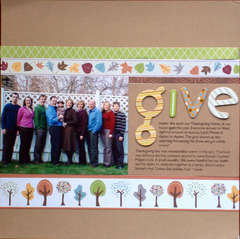 Give Thanks (left side)