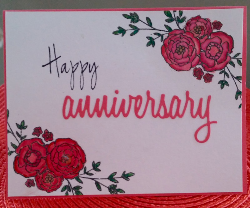 Happy Anniversary with Twinkling H2Os