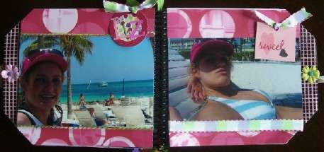 Vacation Tag Book