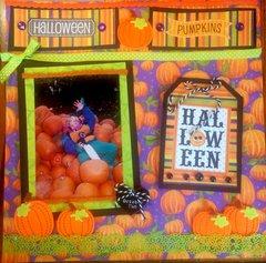 Fall Piles of Pumpkins -Halloween Teenaged Mutant Ninja Turtles Doodlebug