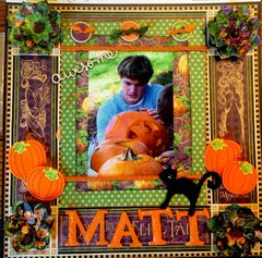 Fall Pumpkin Carving- Matthew   Graphic 45