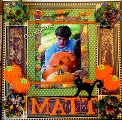 Fall Pumpkin Carving- Matthew   Graphic 45