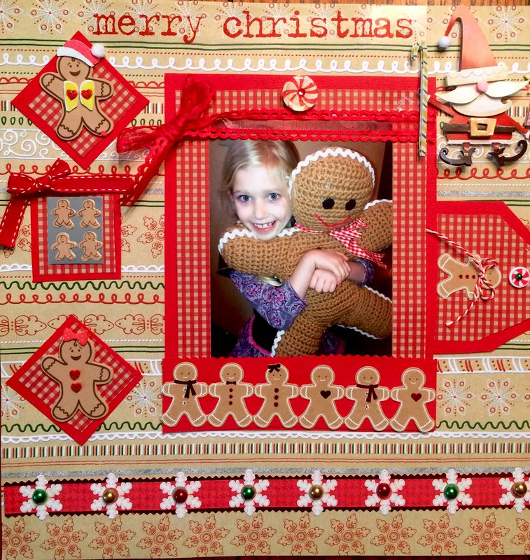 Gingee  the Gingerbread Man- Christmas 2014