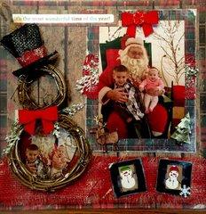 A visit to Santa- Christmas 2014