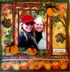 Fall Splendor Paper House Autumn Woods