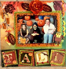 Fall Pumpkin Carving Party Paper House and Graphic 45