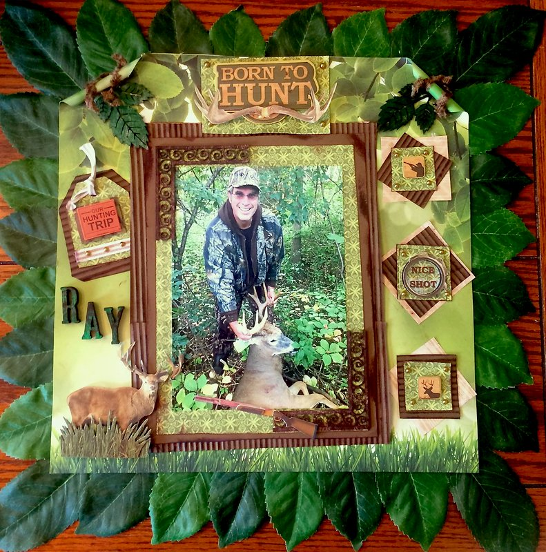 Fall Hunting- Oh Deer - Reminisce and Graphic 45