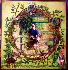 Matt's Deer- Reminisce- Hunter's Paradise, Graphic 45