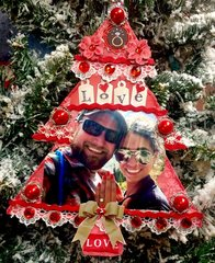 Engaged Christmas Ornament