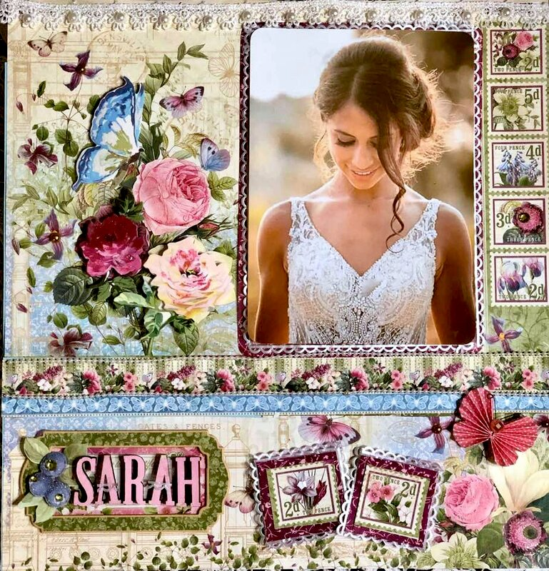 Summer Wedding- the bride  Graphic 45