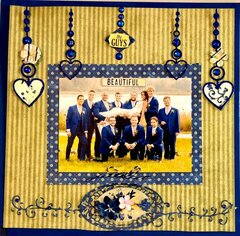 Wedding the Bride and Groomsmen Graphic 45