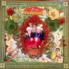 Merry Christmas Momma- Graphic 45 and Prima, Paperhouse Productions