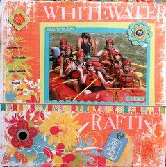 Whitewater Rafting-Colorado 2012