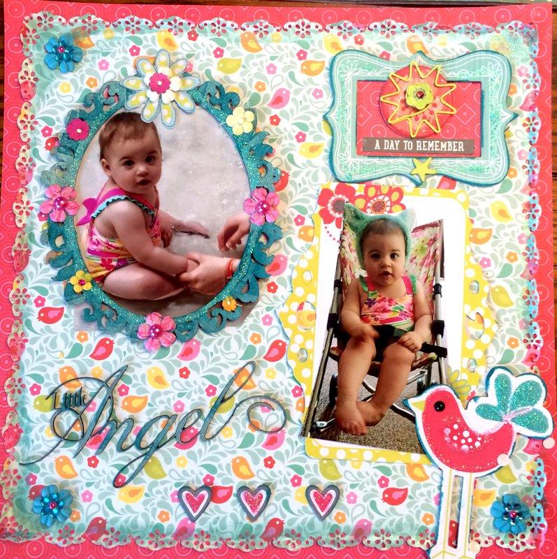 Baby's Summer Vacation- Little Angel Bo Bunny, Echo park