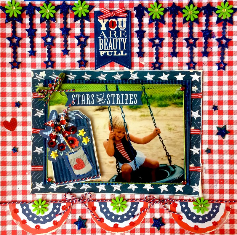 Patriotic Summer- Doodlebug and Pebbles