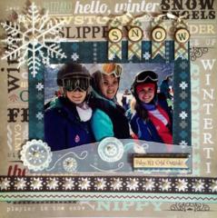 Winter Skiing in Snowmass, Colorado