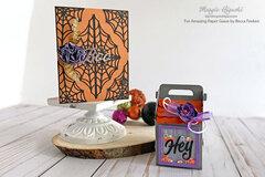 Webbed Boo Card + Hey! Halloween Treat Box Ensemble