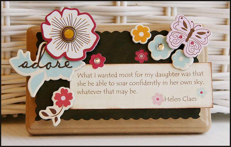 Daughter Mini Decor Plaque