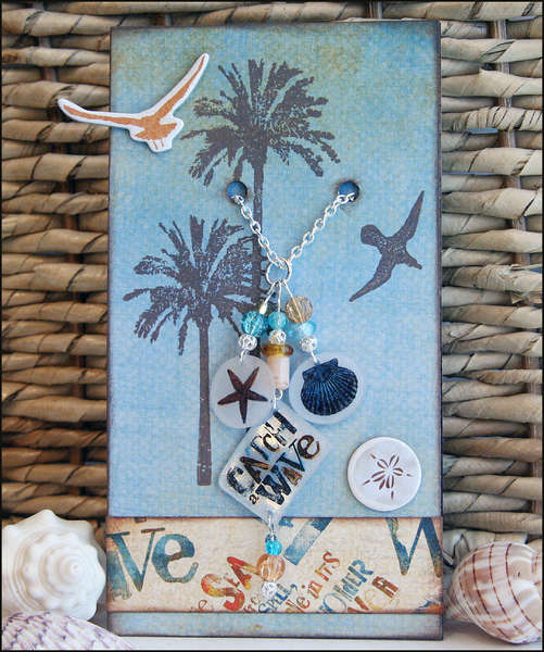 Shrink Plastic Charm Necklace