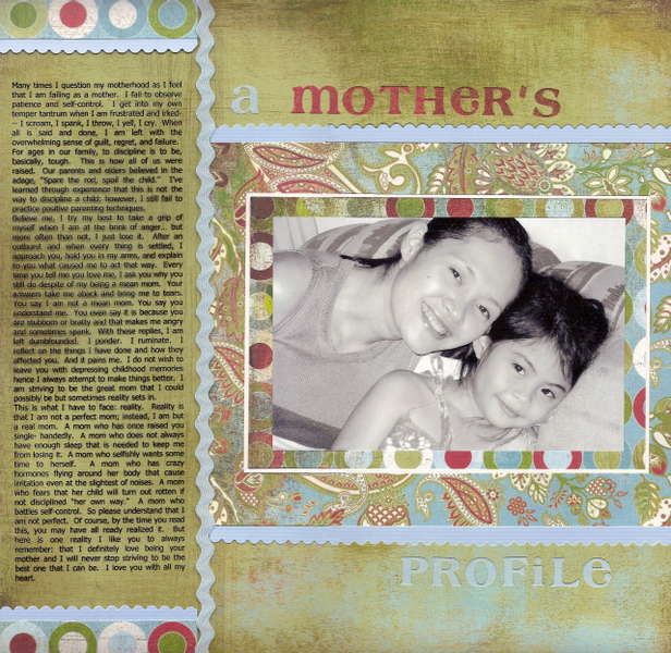 A Mother's Profile