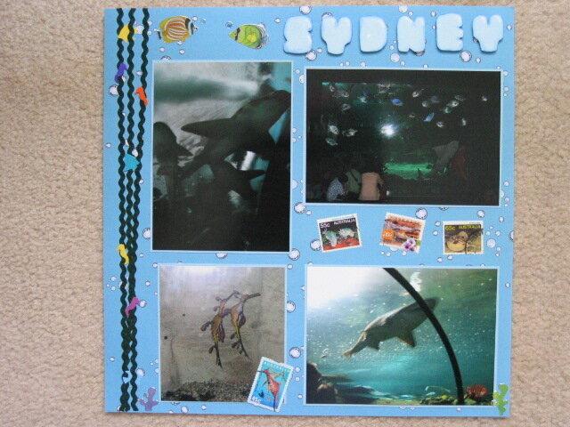 Sydney Aquarium Left