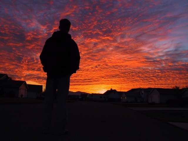 Thanksgiving sunset 2003