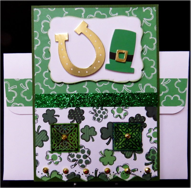 Clovers St. Patrick's Day Card