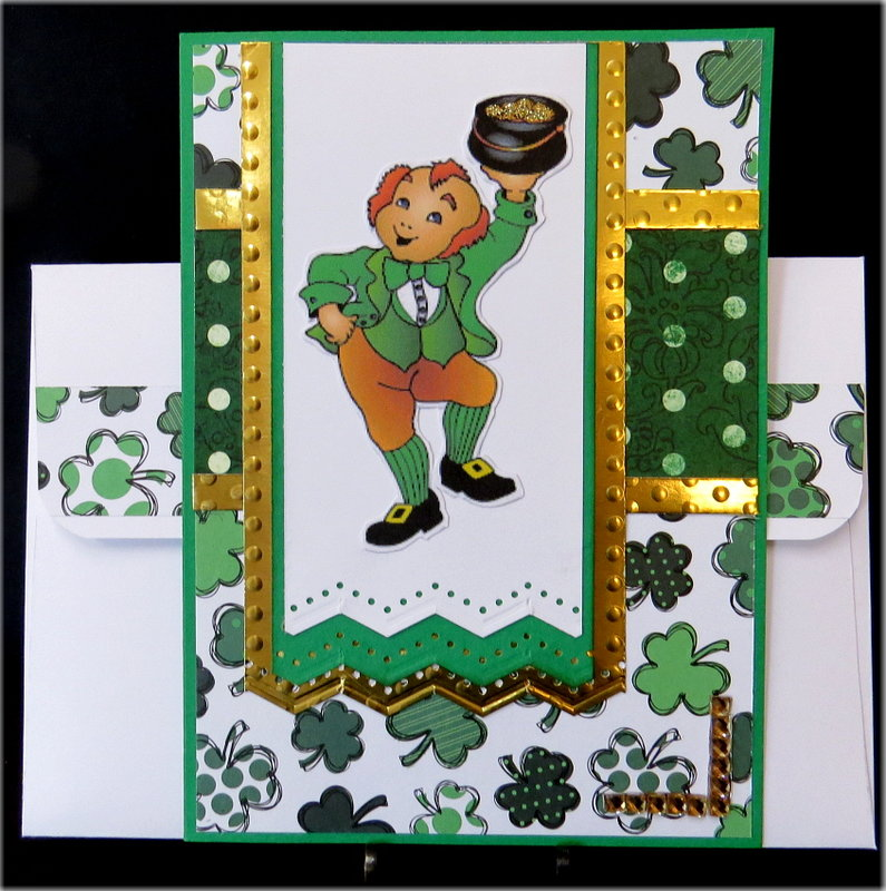 Dancing Leprechaun St. Patrick's Day Card