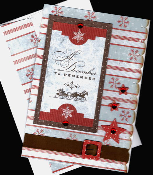 December To Remember Xmas Card