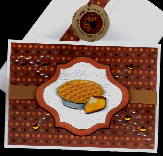 Dots And Pie Thanksgiving Card