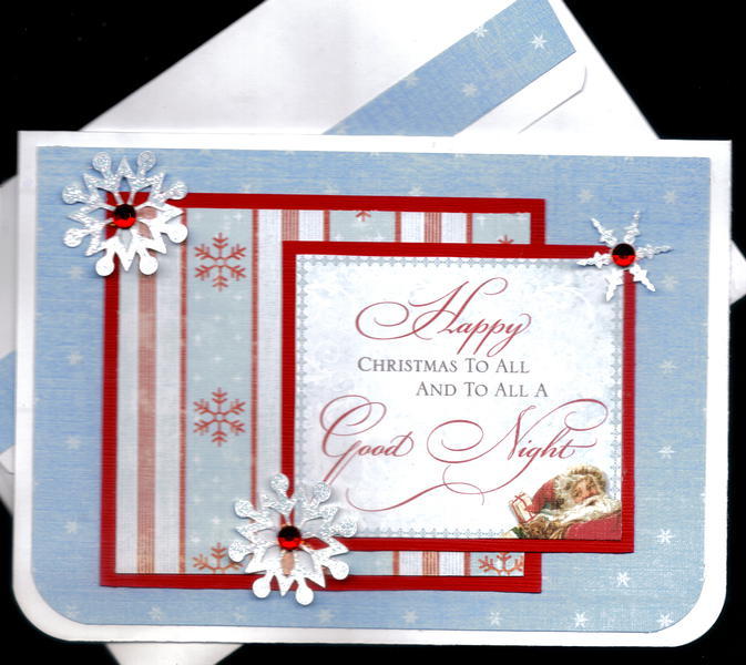 Happy Christmas To All Card