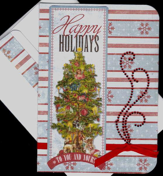 HappyHolidays card