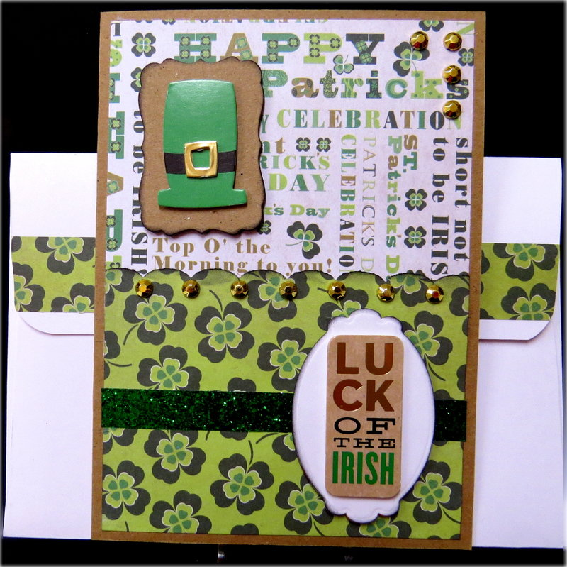 Hat Luck of the Irish St. Patrick's Day Card
