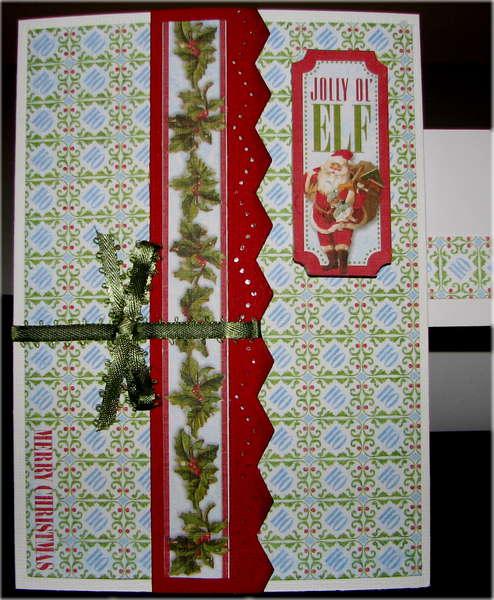 Jolly Ol' Elf Christmas Card