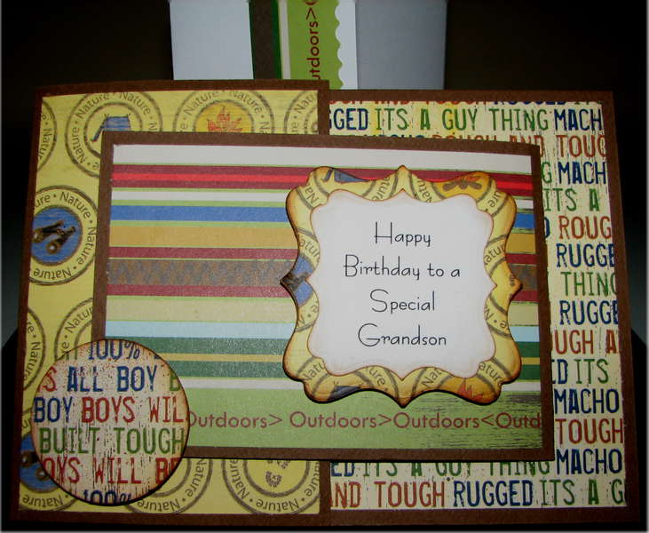 JoyFold November Birthday Card