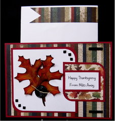 Leaves Thanksgiving Card