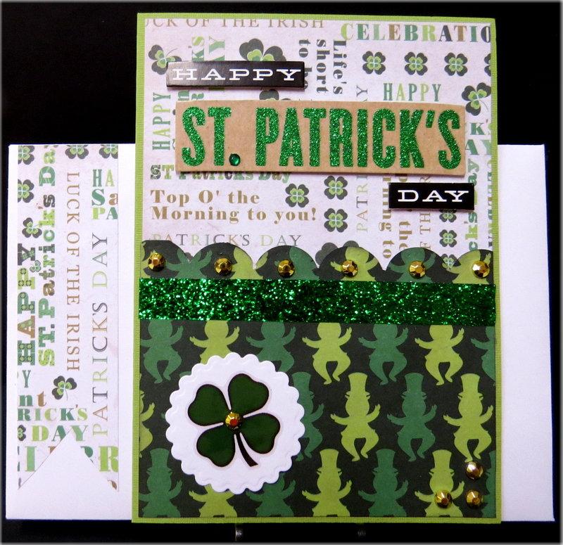 Leprechaun Happy St. Patrick's Day Card